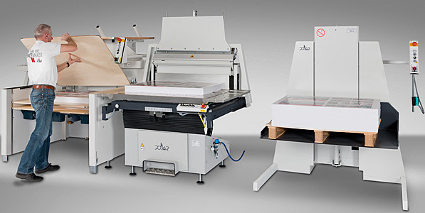 Finishing for Sheetfed offset printing and digital printing