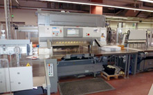 POLAR CuttingSystem 200 PACE at Multicolor Print AG